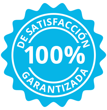 100% de satisfacción garantizada